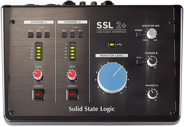Solid State Logic SSL2+