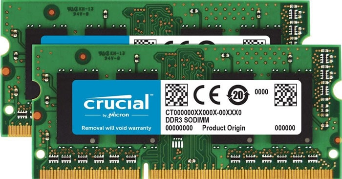 Crucial CT2KIT102464BF160B SODIMM DDR3L