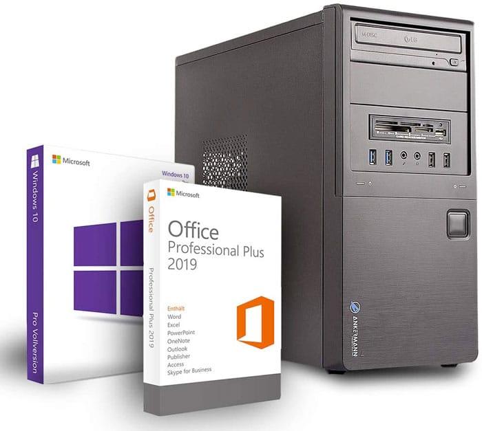 Ankermann Office Silent PC Assemblato