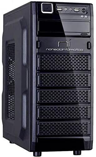 NonSoloInformatica Q1900-8G-1T-W2 PC Desktop Assemblato