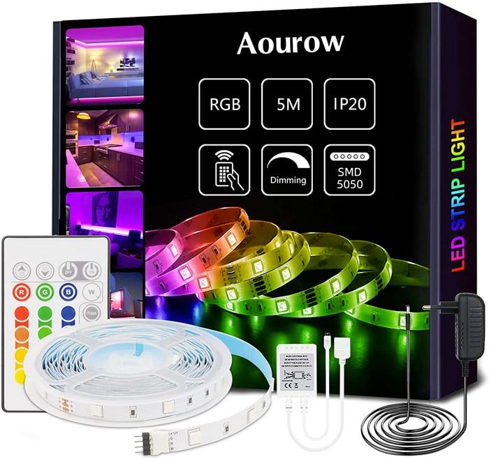 Aourow Striscia LED