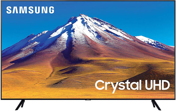 Samsung Smart TV UHD 4K Crystal Display TU7090