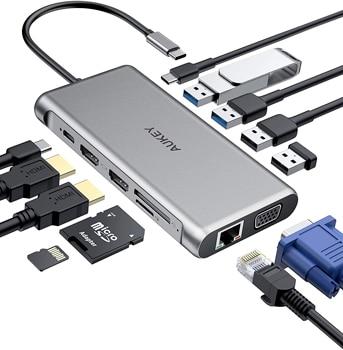 AUKEY USB C Hub 12 in 1