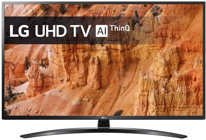"LG TV LED 4K AI Ultra HD 55UM7400PLB Smart TV 55"""