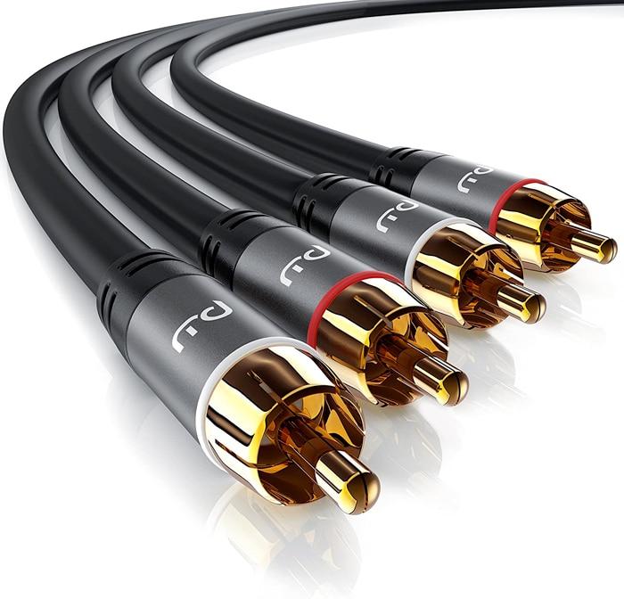 Primewire Cavo RCA Stereo 5m