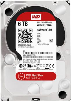 Western Digital WD Red Pro NAS Hard Disk 6 TB