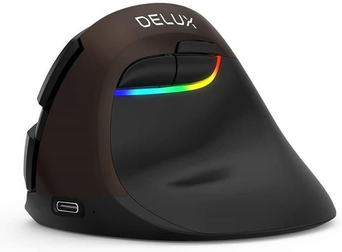 DELUX mouse verticale