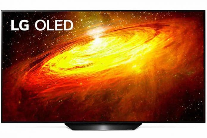 LG TV OLED BX da 65 pollici in offerta su Amazon