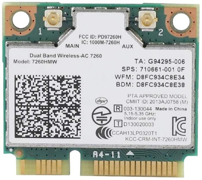 Intel 7260Ac