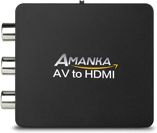 AMANKA Mini AV a HDMI