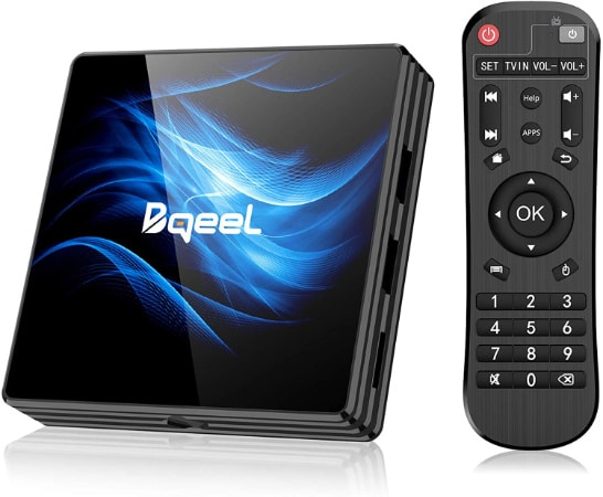 Bqueel Android TV Box R2 max
