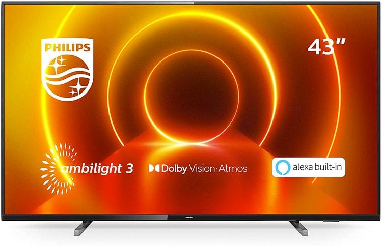 Philips TV Ambilight 43PUS7805/12